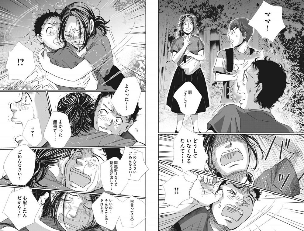 二月の勝者の島津順とお母さんの会話