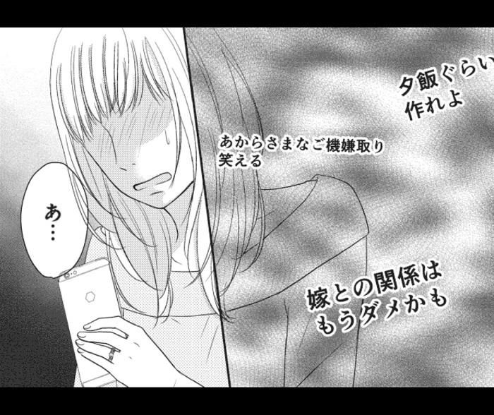 夫婦別生の愚痴夫に翻弄される美奈子