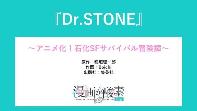 Dr.STONE(ドクターストーン)