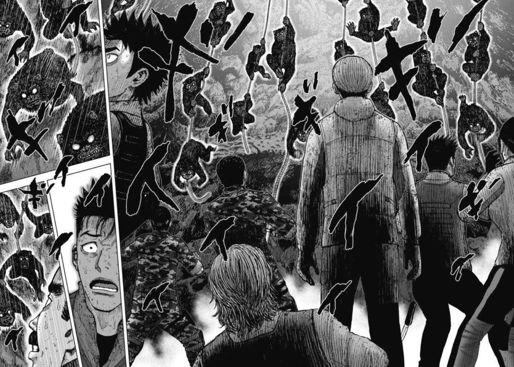 モンキーピーク the Rockの魔猿に襲われる早乙女たち